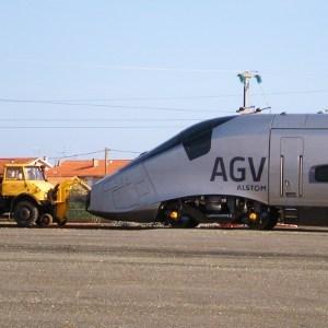 Alstom speed train